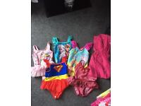 Girls swimsuit bundle