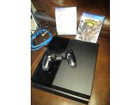PS4 + Controller +leads + Games