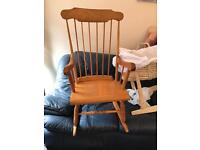 Pine traditional rocking chair delivery available