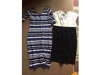 2x Maternity Dresses size 12