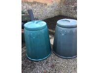 Garden Composter x2