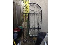 Stylish Black Iron gate