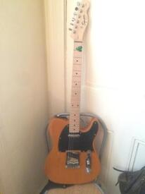 Fender Squier Telecaster and Marshall MG15CD Amp