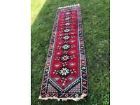 Handmade Turkish Rug (Runner)