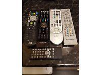 Joblot original remotes mixed