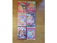6 Barbie DVD's