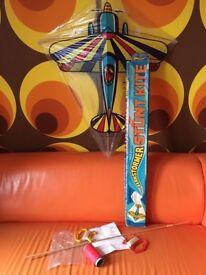 1975 Barnstormer stunt kite - collectible - Retro - vintage