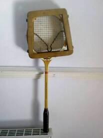 Vintage Dunlop squash racket