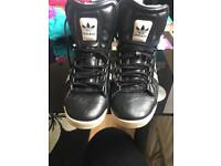 Adidas high tops shoes