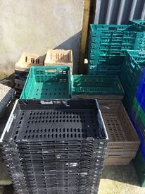 PLASTIC TRAYS FOR STORAGE - ideal for car breaker