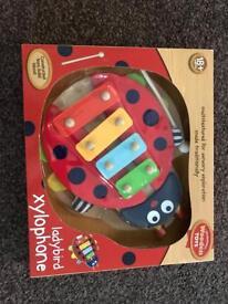 Ladybird xylophone