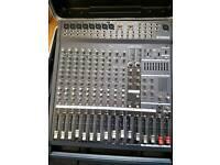 Yamaha powerd mixer desk