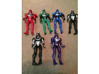 Power Rangers figures