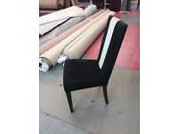 Good Quality Contract Black & White Chairs 180 Quantity Available