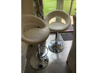 John Lewis Grace Gas Lift bar stools