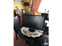 "DELL 24"" inch monitor - HDMI model nr ST2421Lb - small scrach on the screen"