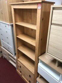 large bookcase - wood