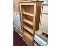large bookcase - wood