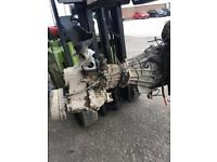 Landrover tdi engine and gearbox will split engine and gear box