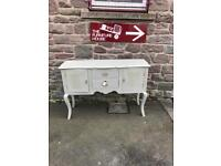 Brand new shabby chic painted sideboard * free furniture delivery *