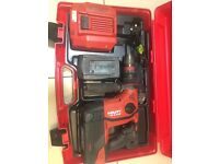 Hilti 36 v one year old like new best hammer drill on the market.
