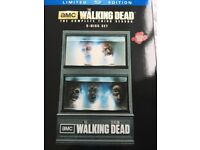 rare limited edition walking dead season 3 box set