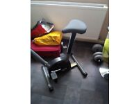 Exercise bike £50 hardly used so in excellent condition