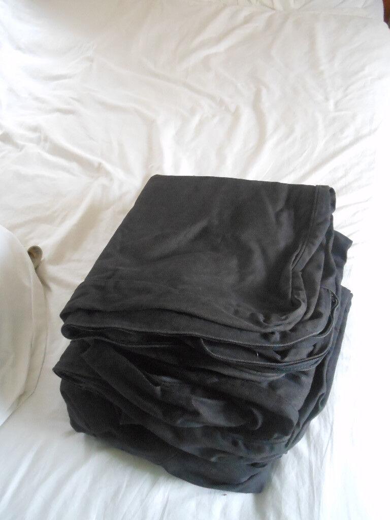 Ikea ektorp black sofa covers for 2 seater
