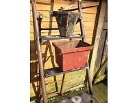 10 X Vintage Cast Iron Hoppers / Garden Planters £8 Each Different Designs- can deliver