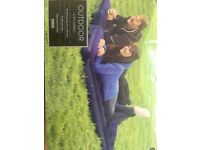 4 in 1 Air bed, 1 double or two singles.