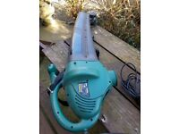 Leaf blower and Vac