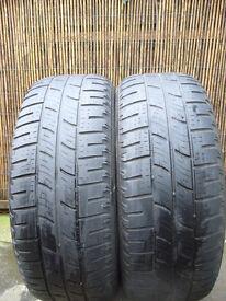 2 x Pirelli Scorpion Zero 255 55 19 Range Rover Tyres for 4x4 SUV ( 3 - 3.5mm tread )
