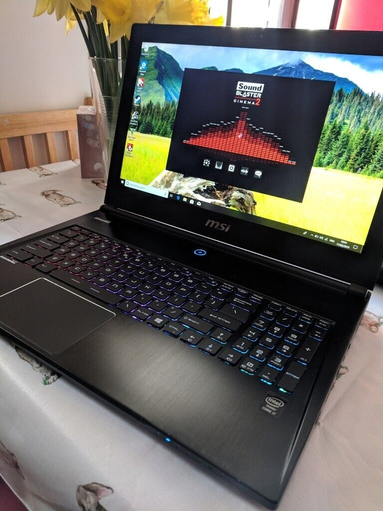Sell/Swap Gaming MSI Ghost pro laptop  i7 ,16GB RAM, Nvidia GTX 870M, 2xm 2  SSD's | in Tottenham, London | Gumtree