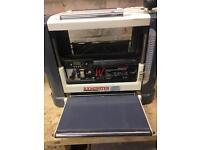 Axminster 330mm bench top thicknesser