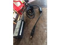 Laptop charger with plug