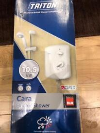 Triton cara 10.5 electric shower brand new