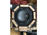 High Quality Sub Woofer and Amplifier.