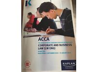 ACCA F4 CORPORATE AND BUSINESS LAW