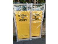 Jack Daniels honey yellow deckchairs £100 pair