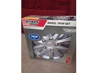 "15"" wheel trim set"