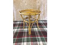 Conservatory Bamboo Style Table (Round Top)