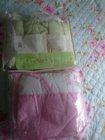 Baby cot bed bundle