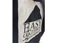Black Heavy Duty Gazebo