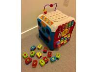vtech infant discovery cube