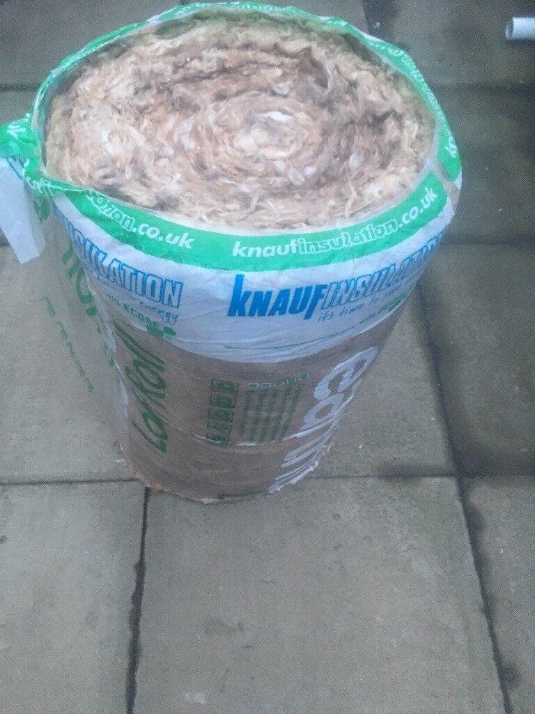 100mm Knauf loft insulation