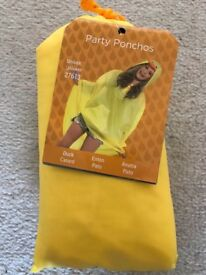 Duck party poncho