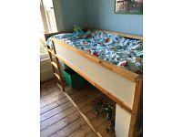 Ikea Kids Bunk Bed with Storage under