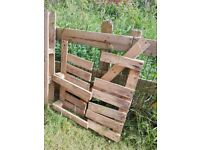 Used/cut pallets firewood