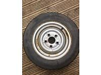 155/70R12C STEEL BELTED RADIAL TRAILER TYRES INDESPENSION ,IFOR WILLAMS ,BRIANJAMES E.T.C