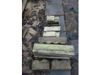 Path edging stones